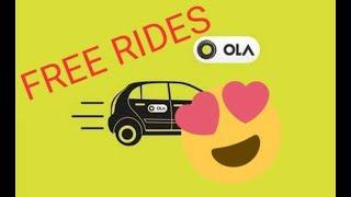 Free Ola rides  OLA MOBIKWIK