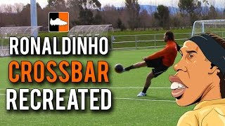 "Nike Ronaldinho Crossbar Challenge Recreated ""Touch Of Gold"" + 50K Subs"