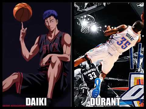 Real life anime moments in the NBA.