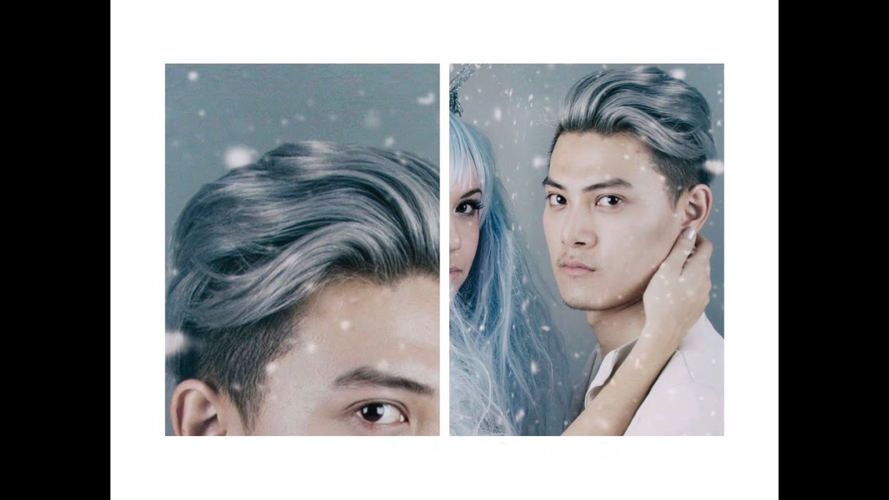 Dyeing My Hair Hair Silvergrey Youtube