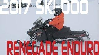 STV 2017 Ski-Doo Renegade Enduro