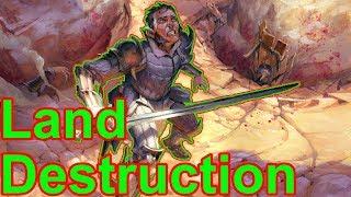 Some Funny Land Destruction Games