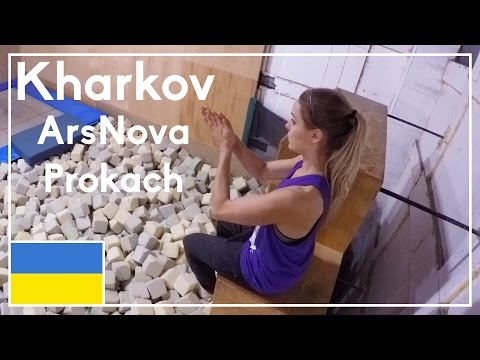 Training at ArsNova Prokach & Exploring Kharkov