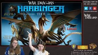 War Dragons YouTube Gaming Stream | Harbinger Preview Week