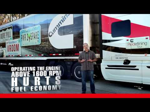 RPM & Fuel Economy - Driver Training for On-Highway Heavy-Duty Truck Engines