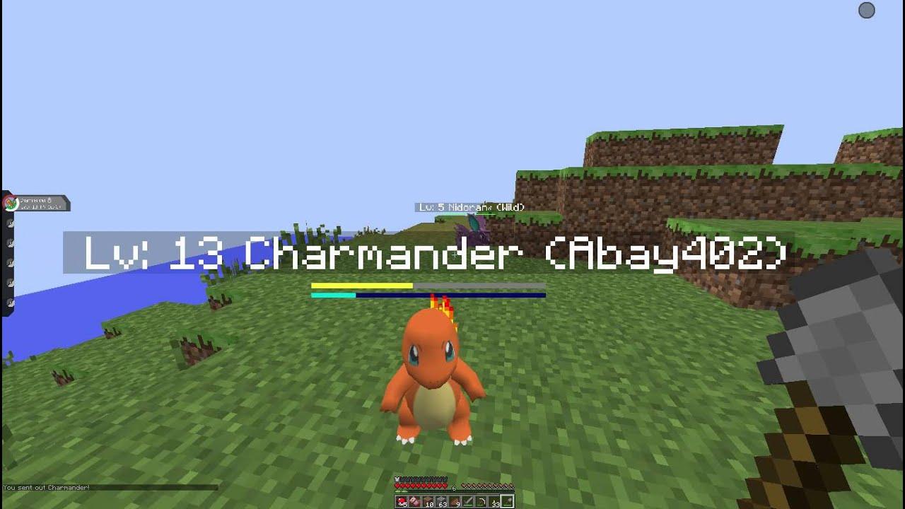Minecraft pixelmon episode 1 charmander i choose you - Pixelmon ep 1 charmander ...
