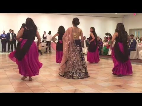Bride to be Surprise Engagement Performance: http://bit.ly/Subscribe2Tia Become a part of the family, by Subscribing above!   Thank you guys for watching! This is just something for you to enjoy.  Also I know the quality isn't amazing, since it was captured from a phone. My gorgeous cousin got engaged, and we all wanted to do a performance.  Also...Her fiance didn't know she was going to surprise him. As you watch the video you can see when Komil gets up to dance with us her Fiance, Preet, gets up as well.   Congratulations Komil and Preet. I love you guys so much, and I wish only but the best and happiness for you. Can't wait for the wedding of 2018!  Shout out to these lovely ladies involved, Komul Bedi, Prija Yani, Kristel Fernandes, and Tina Singh
