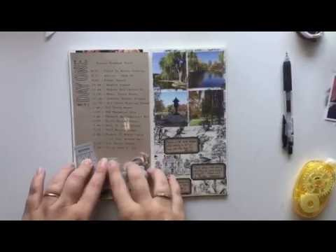 Traveler's Notebook Session - Boston Common