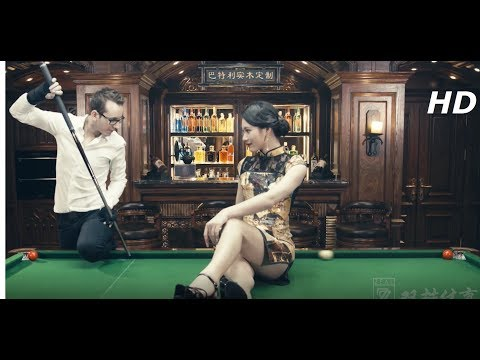Chinese 8 ball Snooker Trick Shots