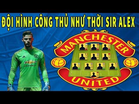 Xây dựng & Trải nghiệm Đội hình Manchester United mùa giải mới trong Dream League Soccer 2019