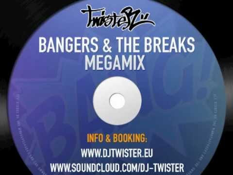 Dj Twister aka Vinyl Cat - Bangers & The Breaks Megamix