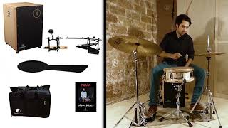 DrumBox and cajon pedal pack by DG De Gregorio