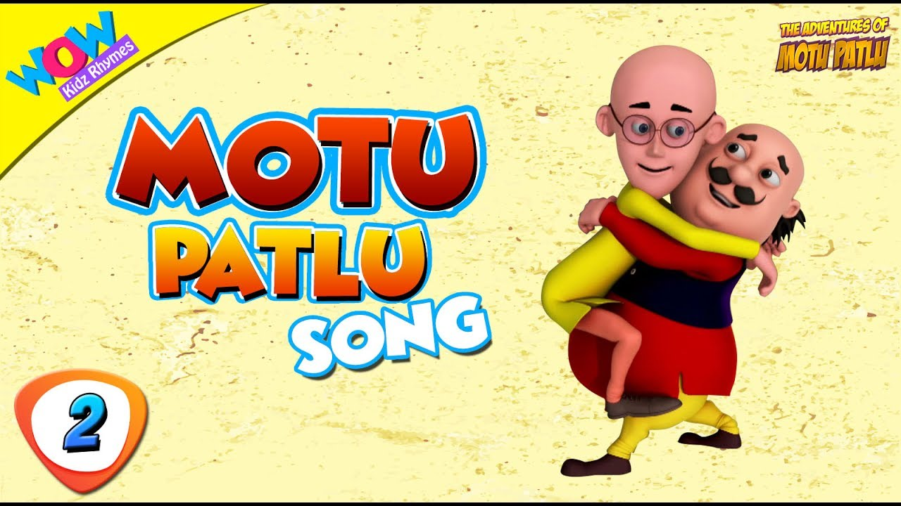Motu Aur Patlu Ki Jodi Song Number 2 Wowkidz Rhymes Youtube
