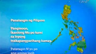 Prayer for strength for the victims of Typhoon Glenda