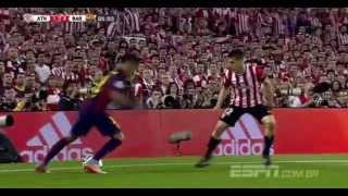 Neymar vs Athletic de bilbao  30/05/15 3-1 ( FINAL COPA DEL REY )