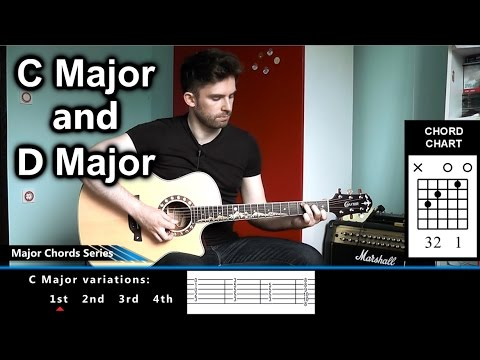 how-to-play-c-major-and-d-major-on-guitar