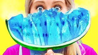 EXTREME ICY FOOD CHALLENGE! || Cool Food Challenges And Funny Tricks by 123 Go! Live