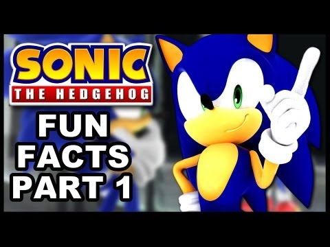Sonic The Hedgehog Fun Facts - Episode 1