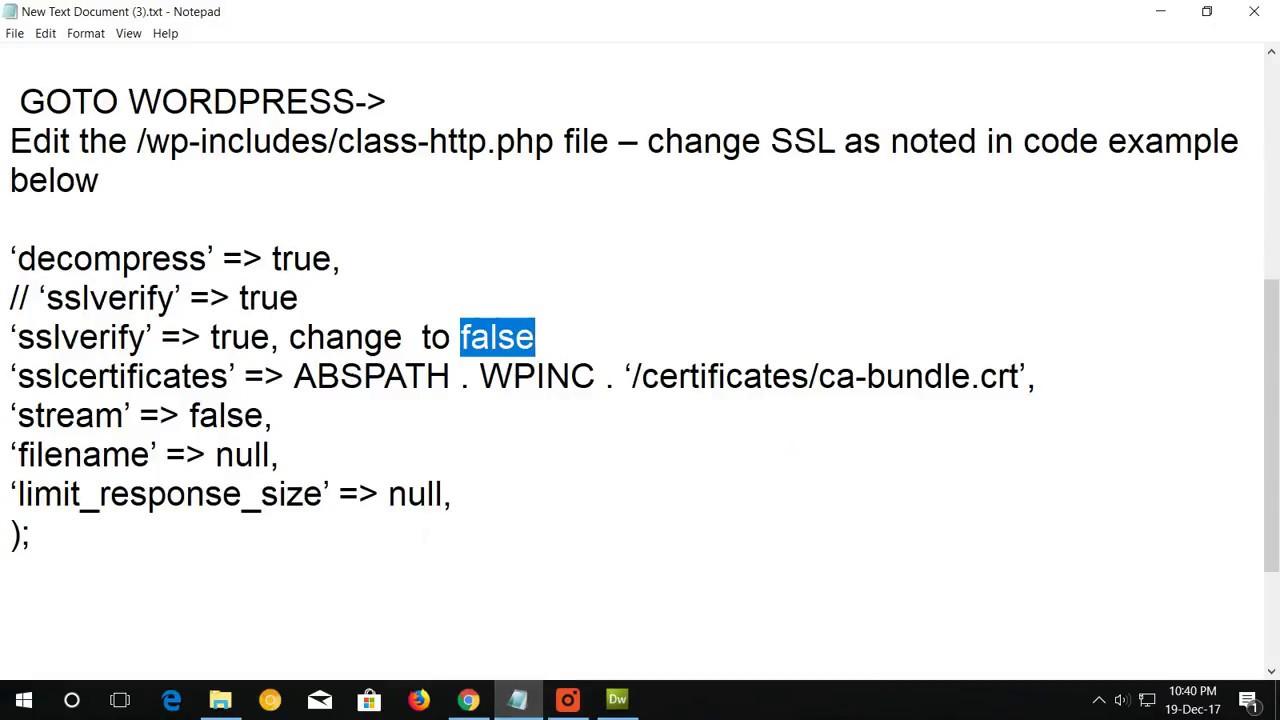 Wordpress How To Fix Installation Failed Download Failed Error