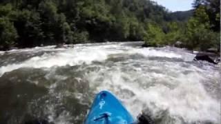 Kayaking Ocoee River