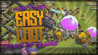 Clash of Clans - (OUT OF DATE) EASIEST WAY TO GET LOOT AND FARM AFTER TH 11 UPDATE