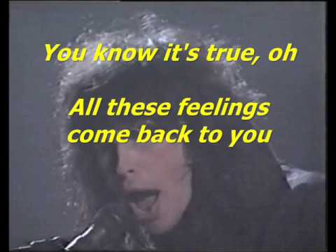 Aerosmith - Dream on + Lyrics