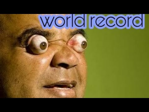 Guinness World Record Eyes Popped india