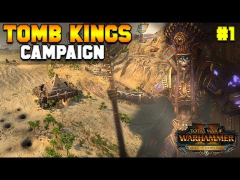 Arkhan The Black (Tomb Kings) Early Access Campaign & Gameplay | Total War: Warhammer 2