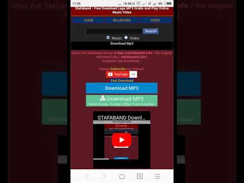 Cara Mendownload Lagu Mp3 Di Stafaband