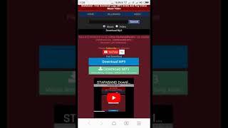 Download Cara mendownload lagu di stafaband