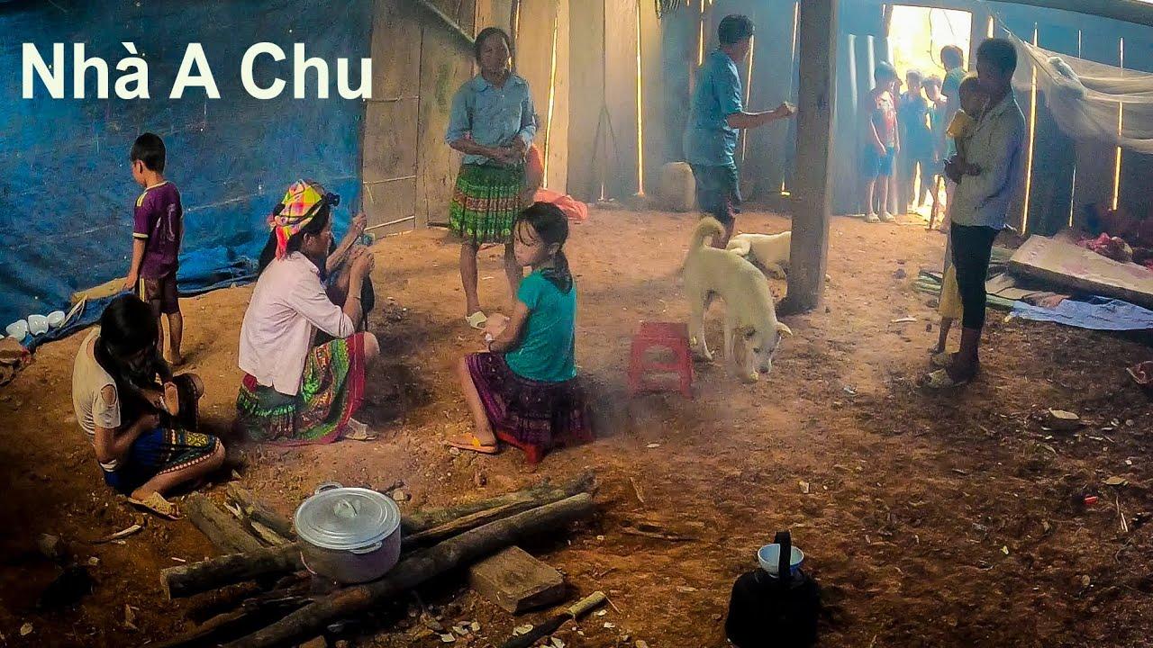 Khảo sát chi tiết nhà A Chu để giúp em ấy làm vách ngăn và mái 2 mái đầu hồi   Vợ chồng A Chu  Tập 2