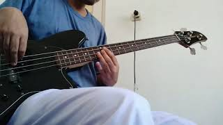 On My Own, Again - Reality Club (Bass Cover)