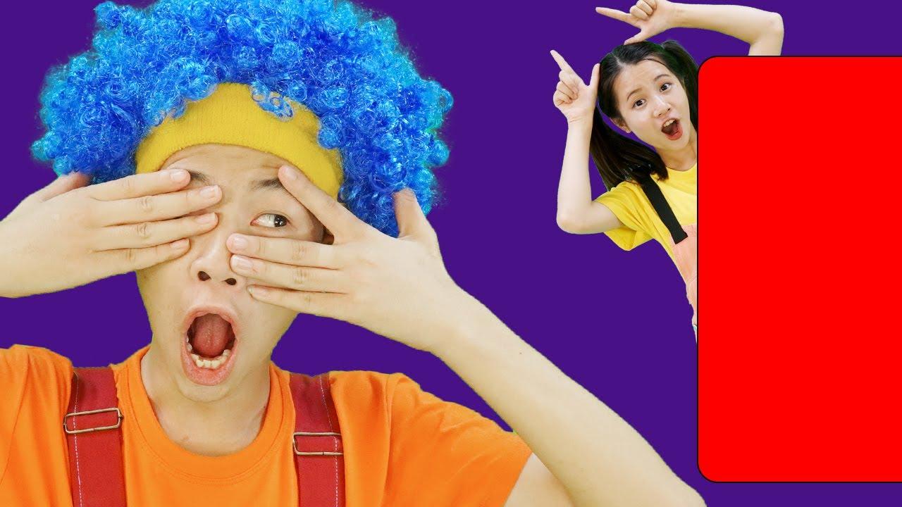 Peek A Boo   동요와 아이 노래   어린이 교육   Bananas Millions Kids Song