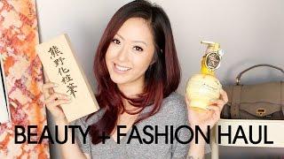 EPIC HAUL   Beauty + Fashion ♥ NSale, Tokyo & more!