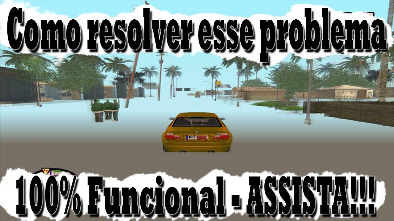 Não Posso Resolver As Coisas: Problema De Mapa Invisível No GTA SA