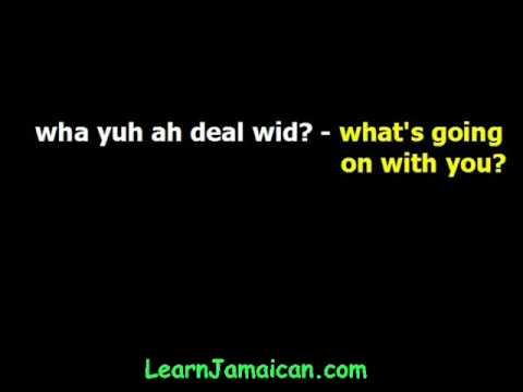 How to Greet People in Jamaican Patois Language - YouTube