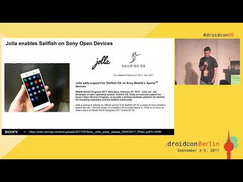 #droidconDE 2017: Alin Jerpelea, Andrew Branson - Open source mobile phone - DAY 2