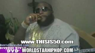 Rick Ross Goes In On Trick Daddy! Shut Your Green Ass Up. Unreleased Footage]