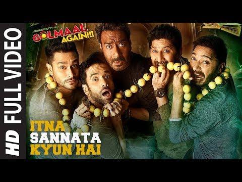 Itna Sannata Kyun Hai Full Song | Golmaal...