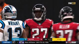 Big Fight Breaks Out After Late Hit On Cam Newton | Panthers vs. Falcons | NFL thumbnail