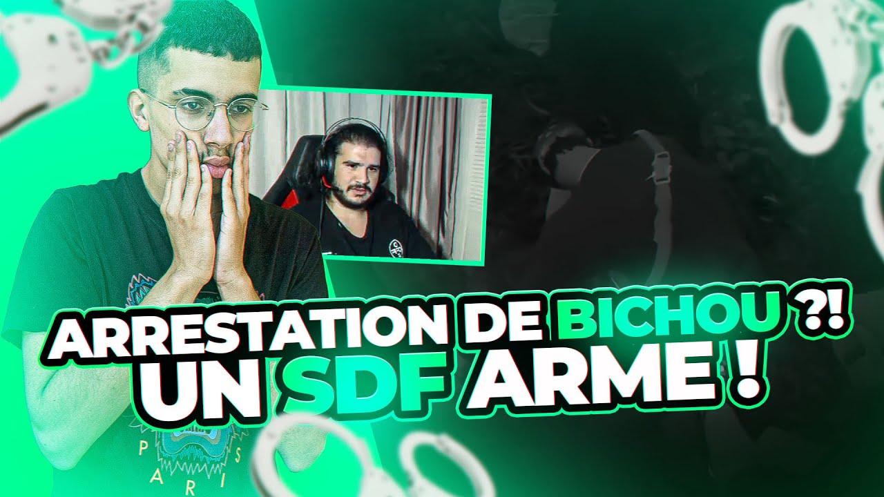 ARRESTATION DE BICHOU ?! 😱 UN SDF ARMÉ ! 🔫 (Flashback Best-Of #9)