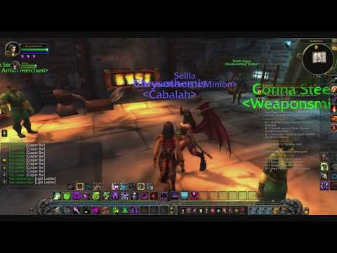 World of Warcraft - Warlock Journal 06 Nov 2017 11