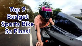 Top 9 Most Budget Sports Bike sa Pinas