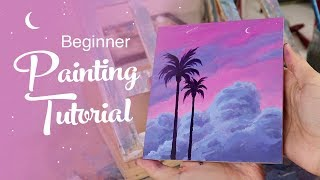 Acrylic Painting Tutorial - For Beginners
