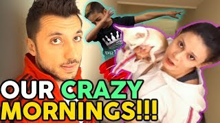 Our Crazy Morning Routine! | The Royalty Family