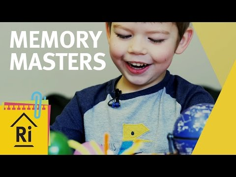 How To Remember Things – Psychology Experiments for Kids – ExpeRimental #21