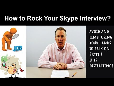 Tips for a Successful Online Job Interview (By Dr. Rigney, Research & Development VP at Ecolab Inc.)