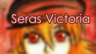 Dibujando a SERAS VICTORIA  (Hellsing ) con acuarelas
