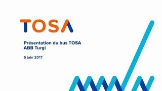 Le bus TOSA: l'innovation et la mobilité au service des genevois