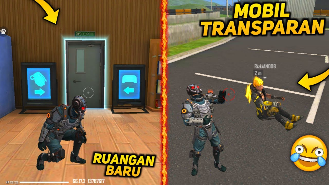 REVIEW TRAINING GROUND DI FREE FIRE ADVANCE SERVER